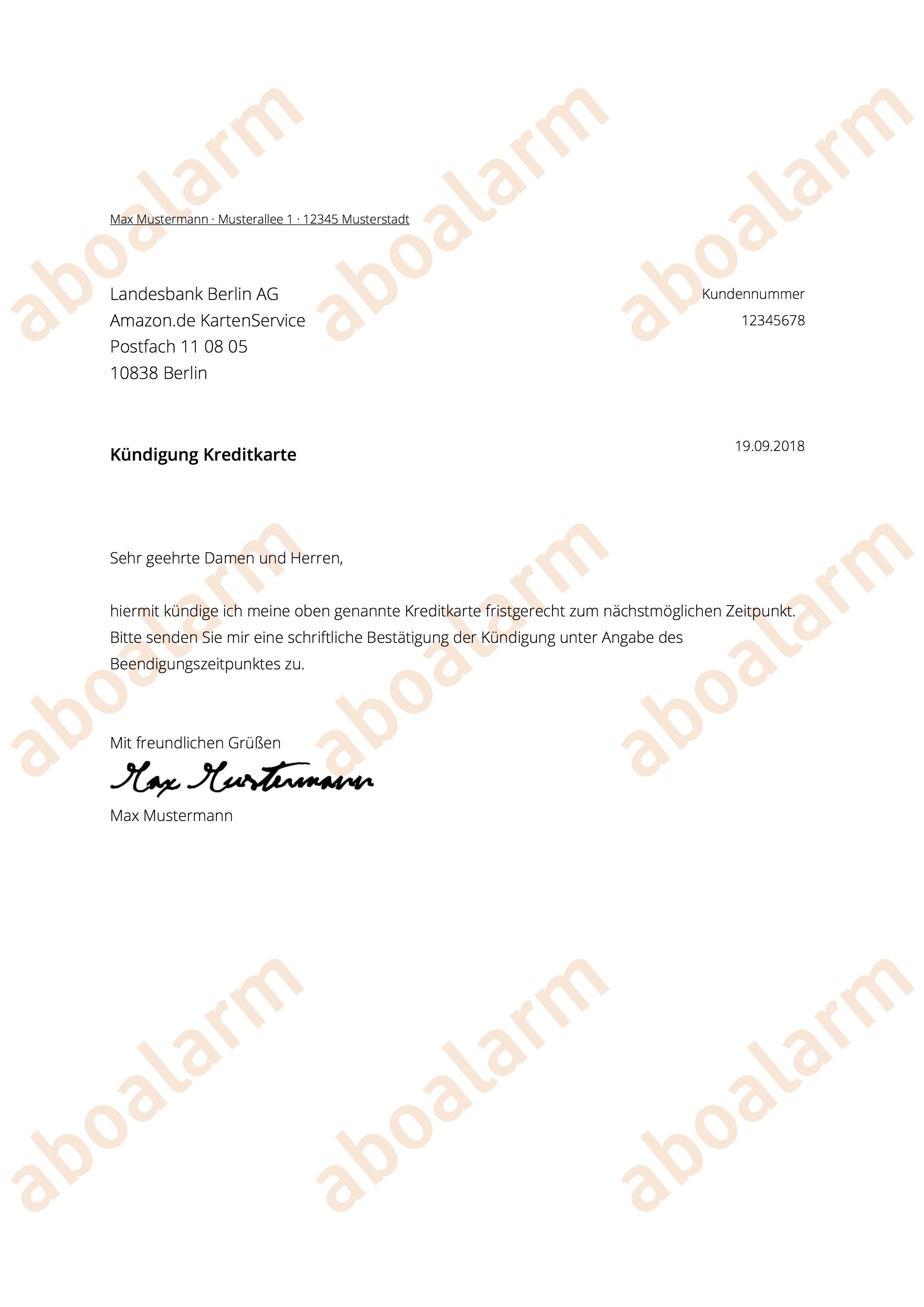 Amazonde Online Kündigen Kündigungsgarantie
