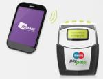 mpass NFC-Sticker und -Ladegerät