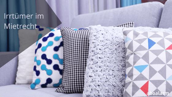 die 6 wichtigsten irrt mer im mietrecht. Black Bedroom Furniture Sets. Home Design Ideas