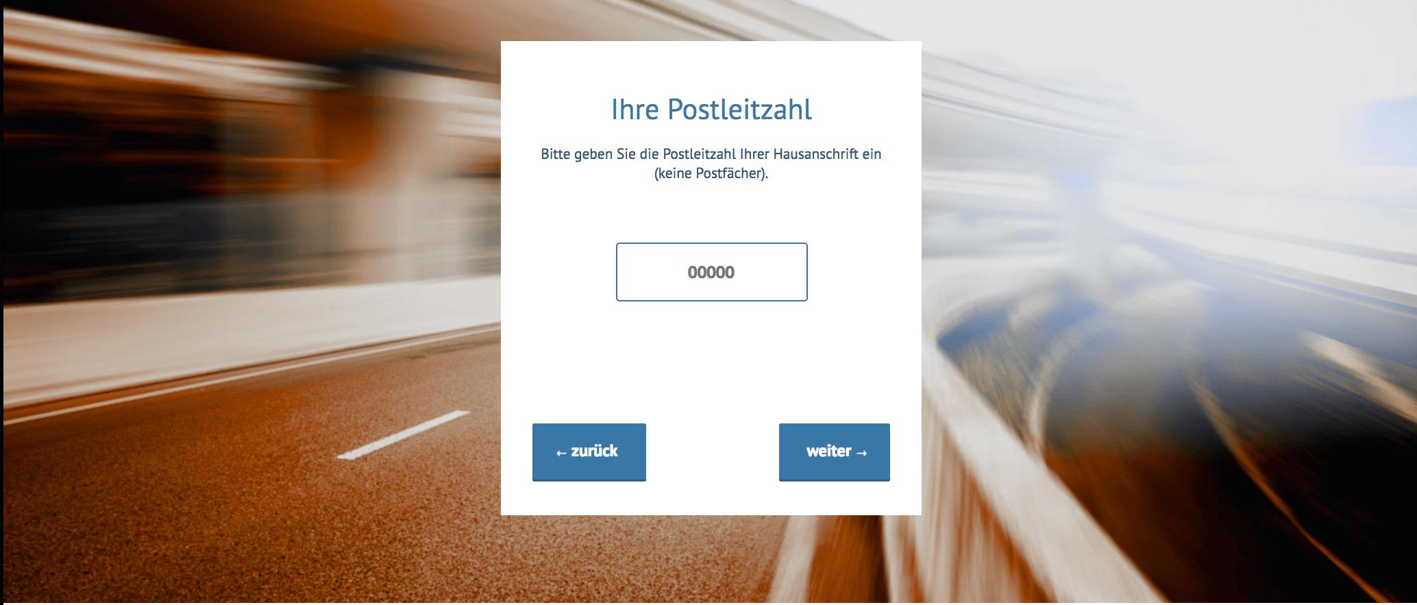 Breitbandmessung Postleitzahl