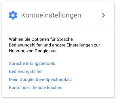 Gmail Konto löschen 2