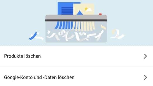 Gmail Konto löschen 3