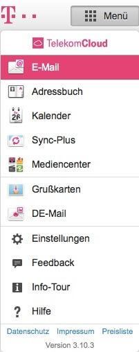 T-Online Email Adresse loeschen - Einstellungen