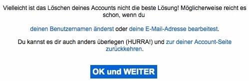 Flickr Account löschen 3