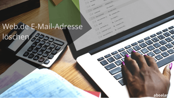 Foto zu Web.de Email-Adresse löschen – so geht's