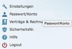 Web.de Email-Adresse löschen 1