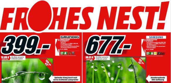 Screenshot Media Markt Osterangebot