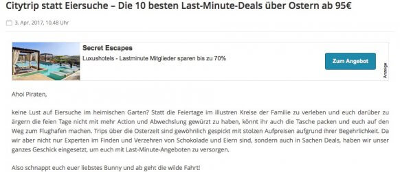 screenshot urlaubspiraten osterangebot