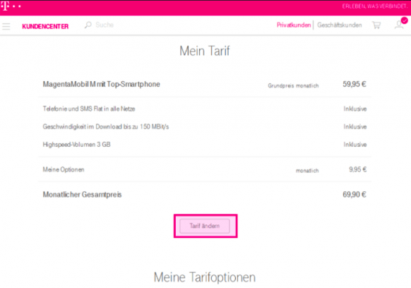 telekom hotline handy