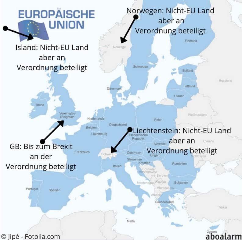 Alle Eu Länder Karte.Roaming Gebühren In Der Eu In Diesen Ländern Gilt Die Abschaffung