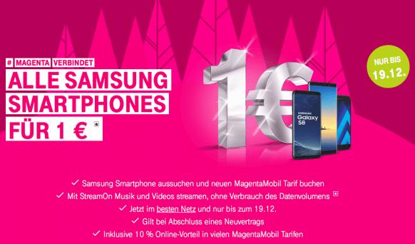 Dezember Aktionen 2017: Telekom Angebot