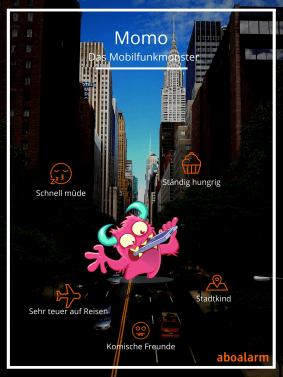 Steckbrief Momo Mobilfunkmonster