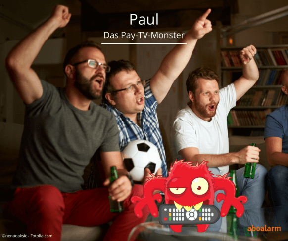 Paul - Das Pay-TV-Monster beim Fussball