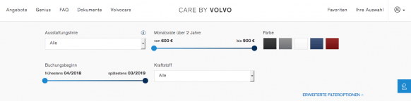 Auto im Abo Care by Volvo