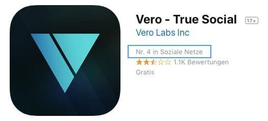 Vero abmelden: Vero im App Store