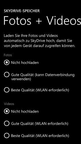 Datenvolumen sparen Windows Phone
