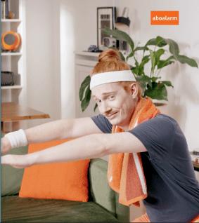 aboalarm TV-Spot orangene Accessiores 2