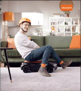 aboalarm TV-Spot orangene Accessiores