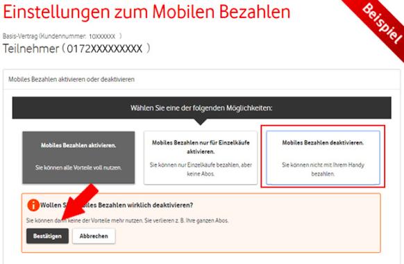 Vodafone Drittanbietersperre einrichten Anleitung