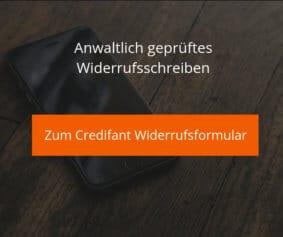 Credifant Widerrufsformular