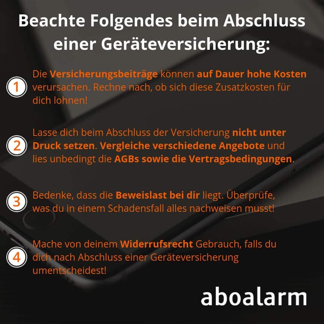 Geräteversicherung