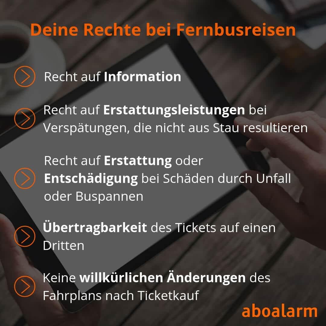 Fernbus-Reisen