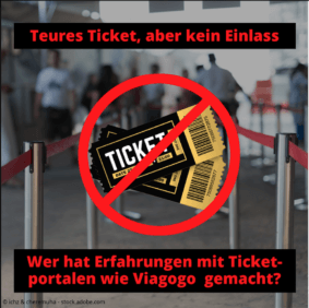 Facebook Aufruf Tickets