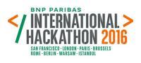 Auszeichnung von BNP Paribas Hackathon 2016