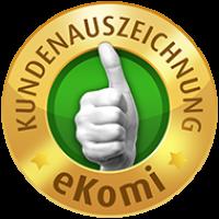 Auszeichnung von eKomi